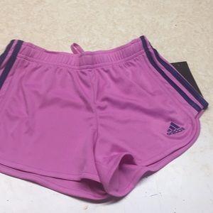 Other - Adidas Girls Shorts Sz S (7-8) NWT